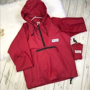 Vintage Mickey Mouse Packable Windbreaker Pullover